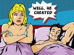 Image result for cheating wives caught red handed in the act
