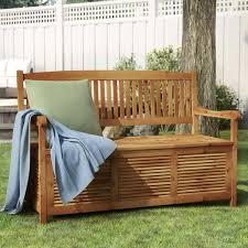 One Allium Way® Brisbane <b>Wooden Storage Bench</b> & Reviews ...