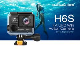 Buy <b>Alfawise</b> EKEN H6S Action Camera For Just $99.99 On GearBest