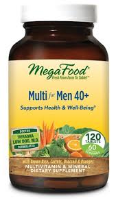 MegaFood <b>Multi for Men 40</b> plus -- 120 Tablets - Vitacost