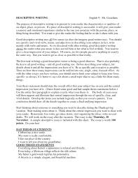 write descriptive essay resume formt cover letter examples how to write descriptive essay how to write a descriptive