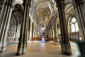 cathedral basilica of saint denis church in paris france basilica saint denis