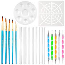 Petift <b>20pcs</b> Mandala Dotting Tools <b>Painting</b> Rocks Dot: Amazon.in ...