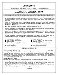 examples of electrician resumes  this master electrician resume    electrician resume examples samples
