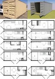 ideas about Tiny House Plans on Pinterest   Tiny Houses      Foot Shipping Container Floor Plan Brainstorm   Tiny House Living   You