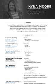 teaching assistant resume samples   visualcv resume samples databasegraduate teaching assistant resume samples