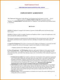 employee contract sample info 10 sample of employee contract quote templates