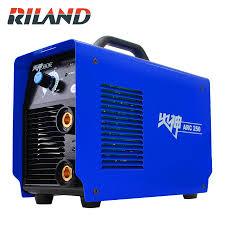 <b>RILAND</b> ARC250 MMA <b>220V Single Phase</b> Welder Welding ...