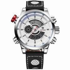 <b>WEIDE Men'S Fashion Casual</b> Sports Watch Quartz Digital LED ...