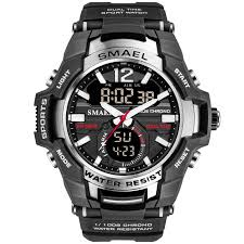 <b>SMAEL</b> Sport <b>Watch Men Watches</b> Waterproof 50M Wristwatch ...