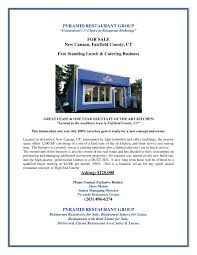 fast food archives restaurant real estate s leasing new canaan eclectic flyer page 001 1