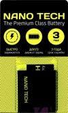 аккумулятор nano tech 1050 mah для nokia e51 n81 n82