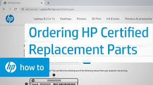 HP Notebook PCs - Ordering HP Certified <b>Replacement Parts</b> | HP ...