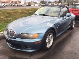 1999 bmw z3 2 3 atlanta blue metallic in lynnwood washington atlanta blue metallic 1996