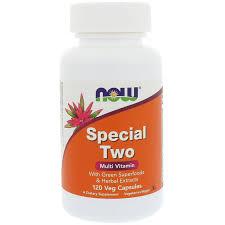 Купить Now Foods <b>Special Two</b> Multi Vitamin <b>120</b> vcaps - цена Нау ...