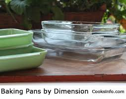 Baking Pans by Dimension