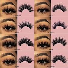 <b>5 Pairs</b> 2 Styles <b>3D Faux</b> Mink Hair <b>Soft</b> False Eyelashes Fluffy ...
