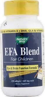 Nature's Way EFA Blend Softgels for Children, 120 ct - Kroger