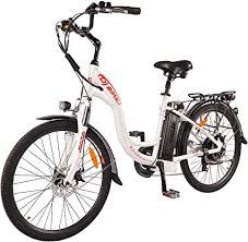 DJ <b>City</b> Bike <b>500W</b> 48V 13Ah Power <b>Electric Bicycle</b>, Pearl White ...