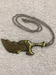 <b>GOW God Of War</b> Necklace | Double sided necklace, Necklace ...