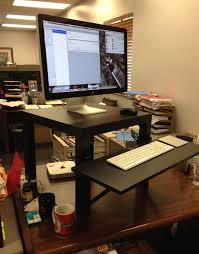 black polished wooden ikea standing desk hack on dark brown teak wood table astonishing ikea astonishing ikea stand