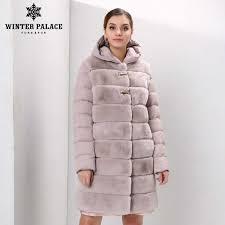 Winter Down <b>jacket</b> style <b>fur coat fashion rabbit fur coat</b> classic ...