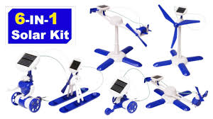 <b>6 in 1 Solar</b> Robot kit - Educational DIY Build. - YouTube