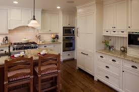 kitchen moldings:  rustic kitchen