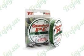 Шнур <b>Fanatik Chameleon PE</b> X4 100м #0.6/0.12 5.4кг (ил-трава ...