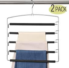 Space Saving Hanger <b>Multifunctional Stainless Steel</b> Clothes ...