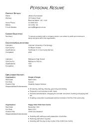 Ideal Resume Format  resumes for changing careers  ideal resume     happytom co