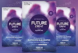 future event flyer template photoshop com