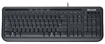 <b>Клавиатура Microsoft Wired Keyboard 600</b> Black USB — купить по ...