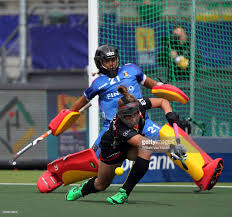 world championships hockey women vs pictures aisling d hooghe and stephanie de groof of pictured during the women game