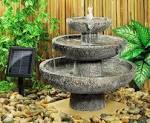 Fontaine solaire de jardin : un choix sage et colo