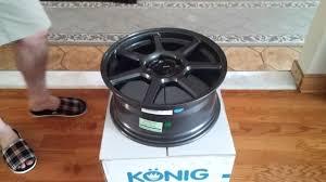 <b>Konig</b> Ultraform wheel unboxing - YouTube