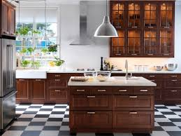 appealing ikea varde: kitchenappealing cabin kitchen with wood elements and freestanding kitchen cabinet with built in shelves