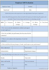 employee appraisal samples employee evaluation form templates templates employee appraisal samples 160