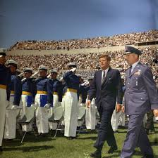 kn c president john f kennedy attends u s air force president john f kennedy attends u s air force academy commencement ceremony