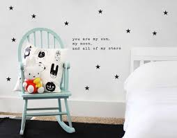 sun wall decal trendy designs: you are my sun my moon and all of my stars wall decal wall art