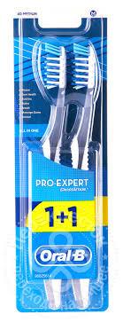 Отзывы о <b>Зубной щетке Oral</b>-<b>B Pro-Expert</b> Все в Одном средней ...