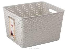 """<b>Коробка</b> для хранения <b>Curver</b> """"<b>My Style</b>"""", цвет: кремовый, 18 л ..."""