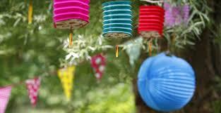 Lanterne Da Giardino Economiche : Giardino di notte unadonna
