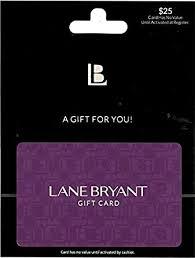 Lane Bryant Gift Card $25: Gift Cards - Amazon.com