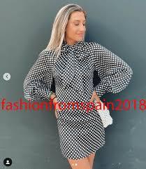 Zara новый <b>мини</b> в горошек атласное <b>платье</b> воздушный шар ...