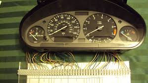 william s ev bimmer i bmw i instrument cluster  to facilitate the testing each of the cable wires were terminated into plastic terminal blocks mcmaster carr part 7618k618 that were bolted to acrylic