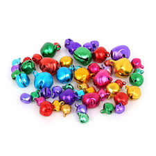 30 <b>200PCS Mixed</b> Color Jingle Bells Pendants Iron Beads <b>Xmas</b> ...