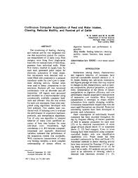 (PDF) Continuous Computer <b>Acquisition of</b> Feed and Water Intakes ...