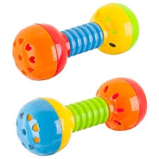 «Развивающая <b>игрушка BONDIBON</b> Маракасы (разноцветный ...