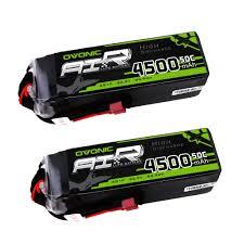 <b>OVONIC</b> Lipo RC Battery <b>2 Packs 22.2V</b> 450- Buy Online in ...